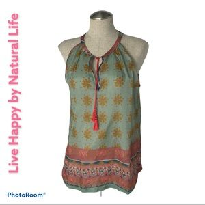 Live happy by Natural Living M Tank Sheer